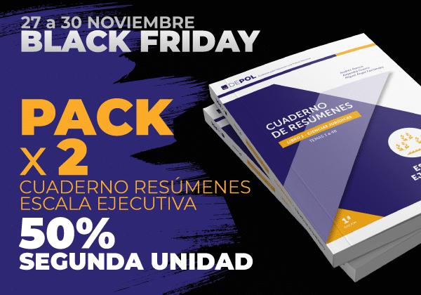 2 x Cuaderno resúmenes DEPOL Escala Ejecutiva – 50% SEGUNDA UNIDAD