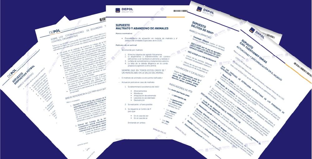 El 100% de las preguntas del examen de ascenso a subinspector por Concurso Oposición se han trabajado en DEPOL