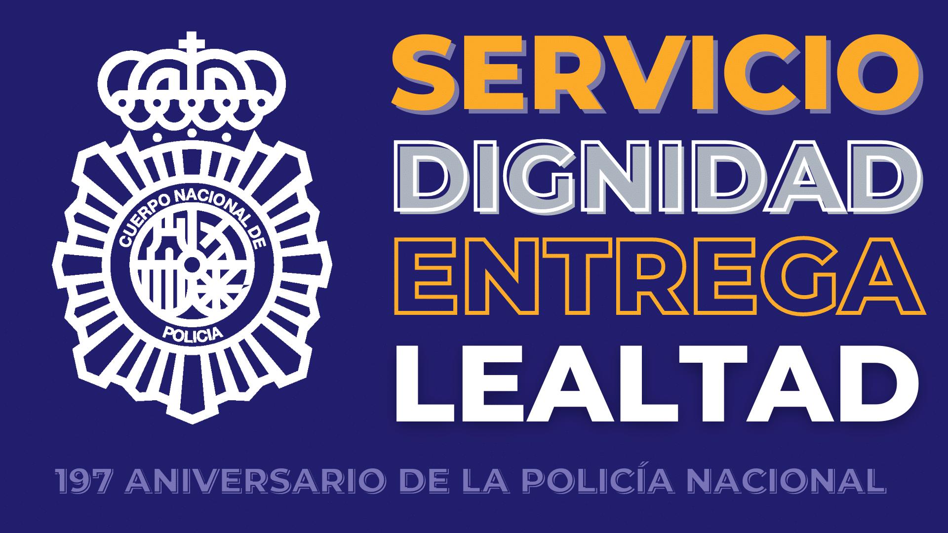 La Policía Nacional celebra 197 años de historia, servicio público y vocación por ayudar a los demás