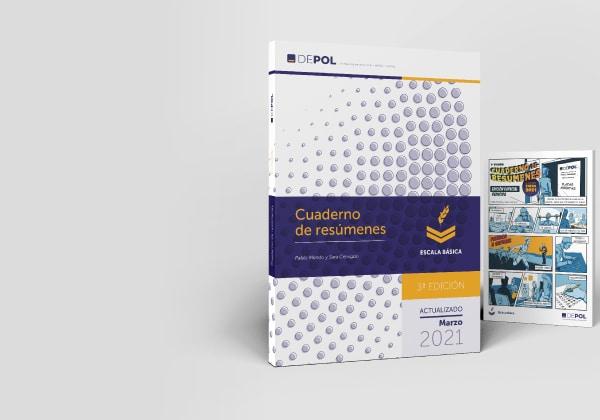 PACK Cuaderno resúmenes DEPOL Policía. 3ª Edición